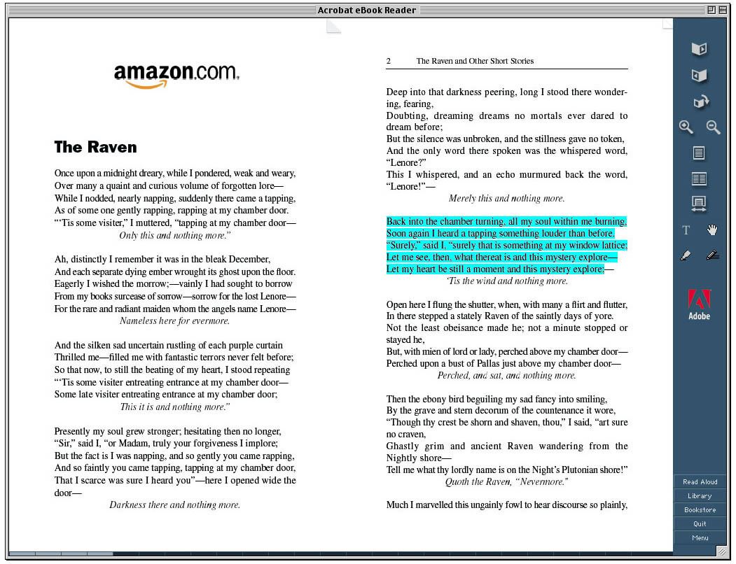 Many Ebook Formats Allow Text Highlighting And Annotating, Along With  Limited Copying And Pasting