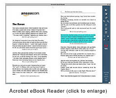 Many eBook formats allow  text highlighting and annotating, along with limited copying and  pasting.